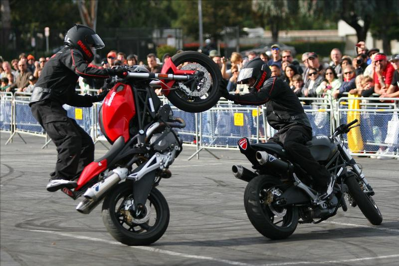ducati : hohey designs, custom and factory parts for stunt bikes